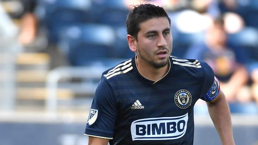 Alejandro Bedoya - Philadelphia Union - close-up