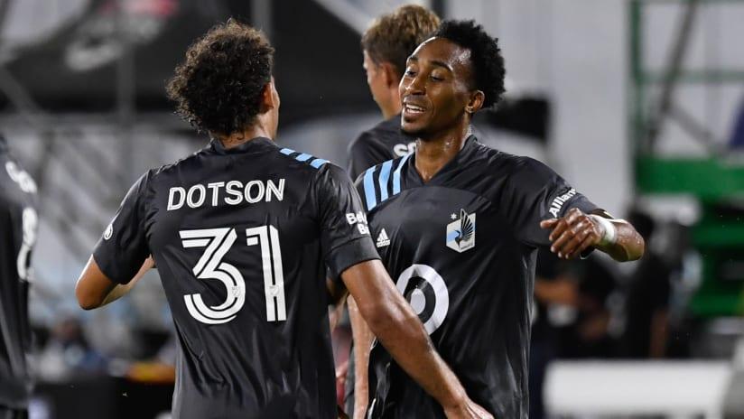 Marlon Hairston - Minnesota United - THUMB ONLY