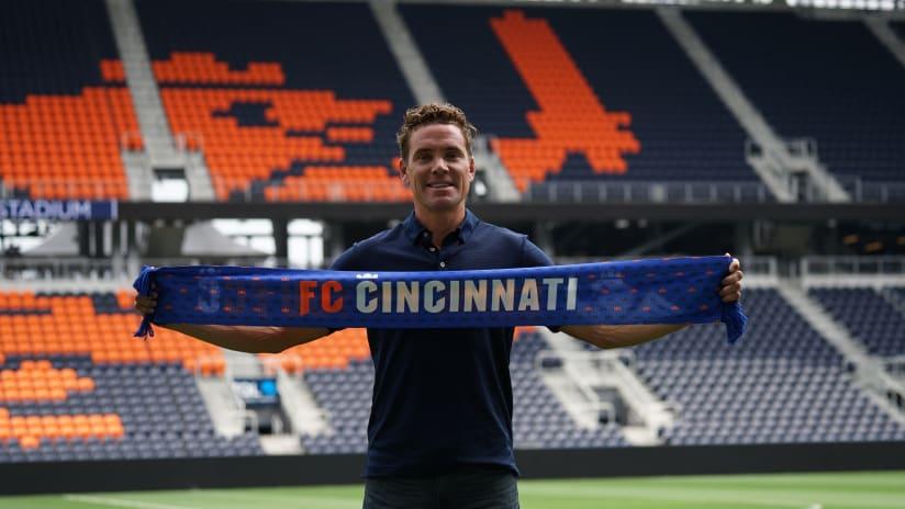Chris Albright - FC Cincinnati announcement
