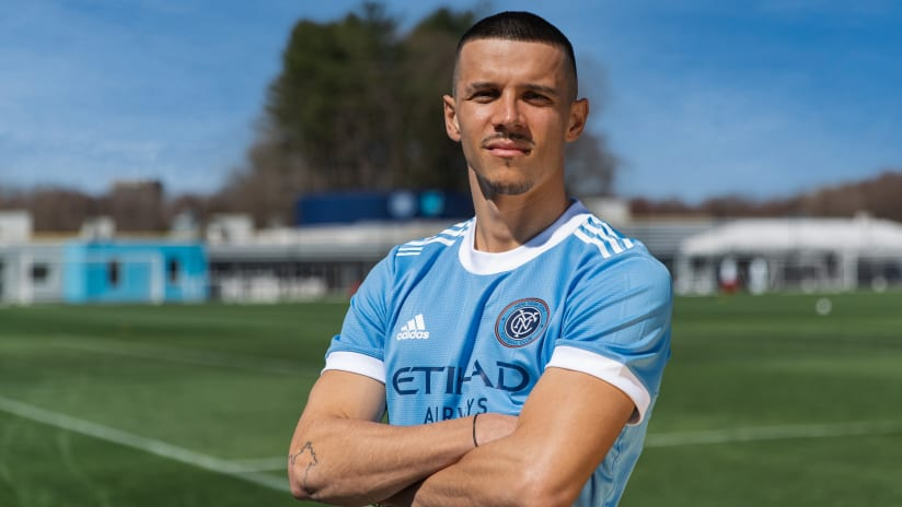 Alfredo Morales - NYCFC signing announcement