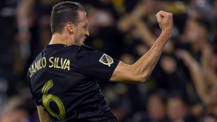 Danilo Silva - LAFC - Celebrating