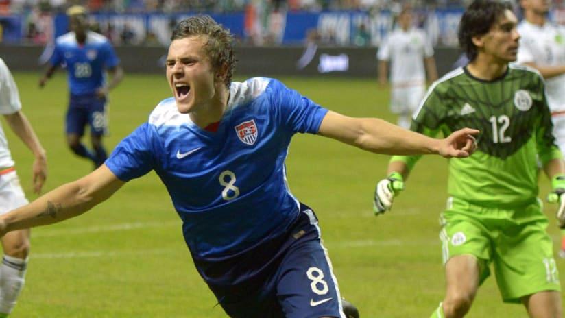 Jordan Morris - US national team - Celebrate a goal