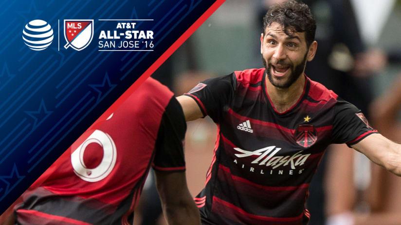 Diego Valeri - All-Star - Portland Timbers - May 2016