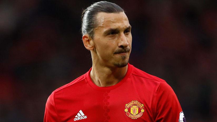 Zlatan Ibrahimovic - Manchester United - closeup