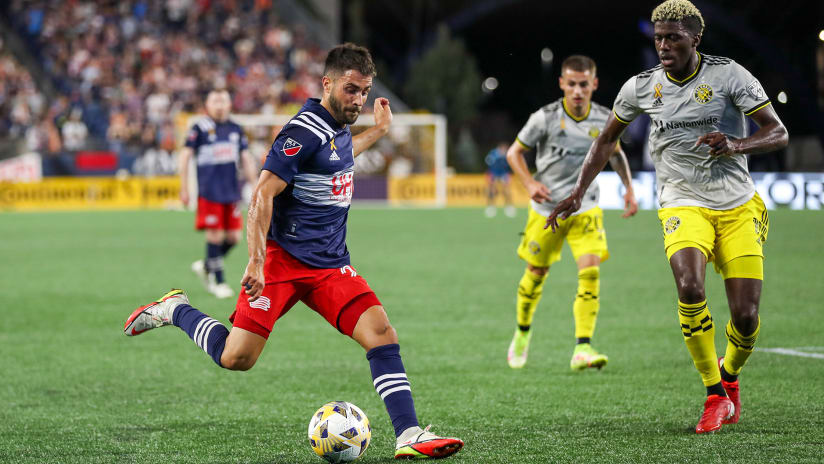"""Shield-chasing New England reminded of need to be """"ruthless"""" in Crew draw"""