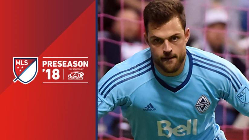 2018 preseason - Stefan Marinovic - Vancouver Whitecaps