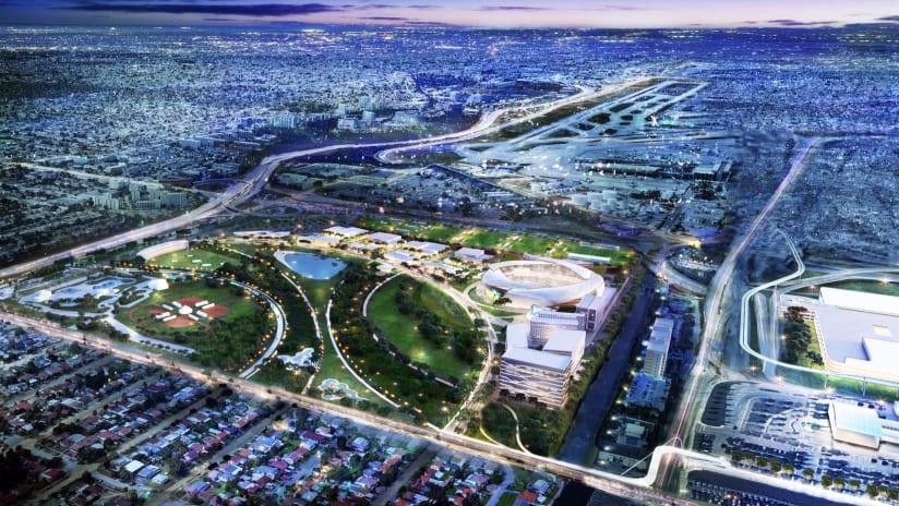 Miami Freedom Park stadium rendering