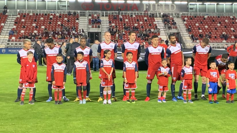 FC Dallas - Starters - Preseason