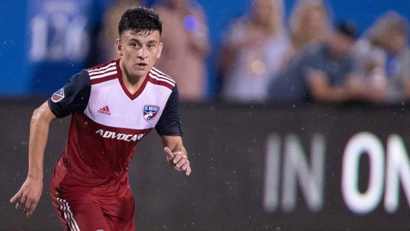 Pablo Aranguiz - FC Dallas - Runs