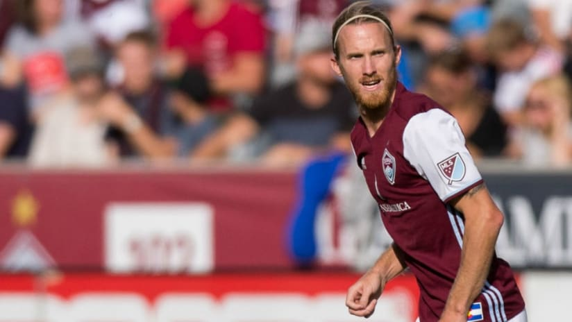 Jared Watts - Colorado Rapids - isolated - action