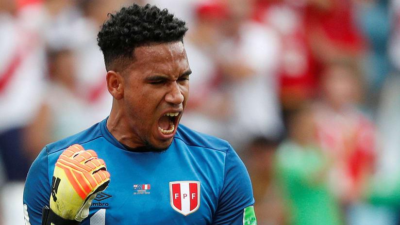 Pedro Gallese - Peru - pumped up