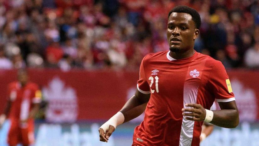 Cyle Larin - Canada national team - Vs El Salvador