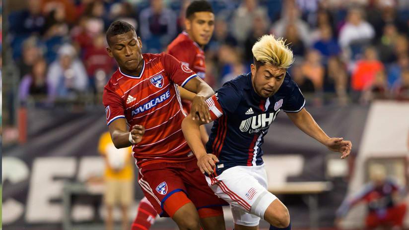 Carlos Gruezo vs. Lee Nguyen - New England Revolution vs. FC Dallas