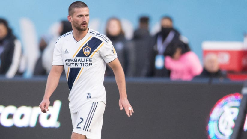Perry Kitchen - LA Galaxy - isolated