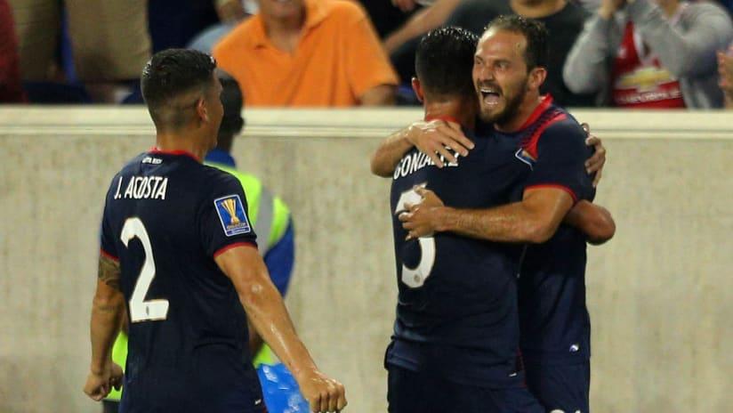 Costa Rica - Gold Cup - Marco Urena - celebration