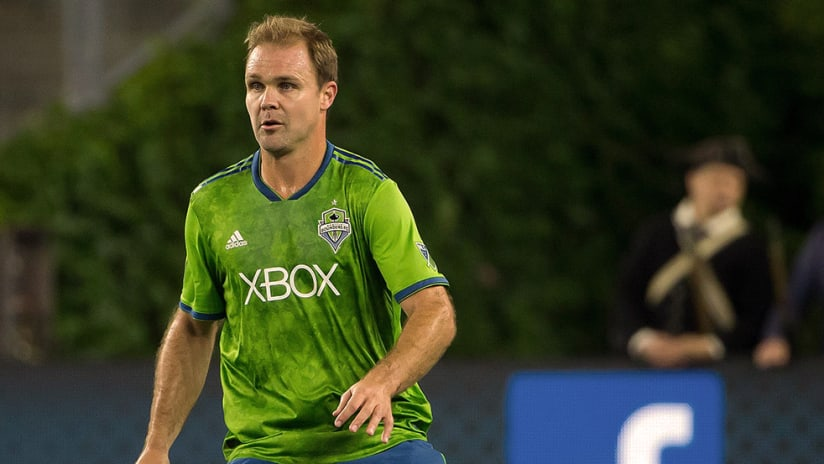Chad Marshall - Seattle Sounders - Close up