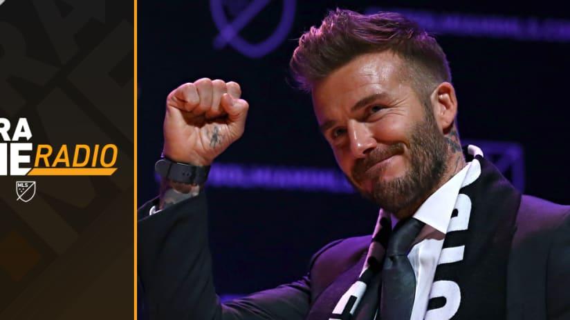 ExtraTime Radio - David Beckham - Miami, fist pump