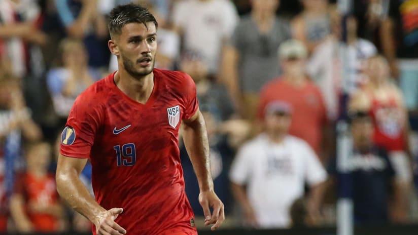 Matt Miazga - US men's national team - tight shot