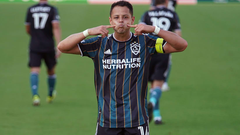 He's back: Chicharito wins MLS Player of the Week