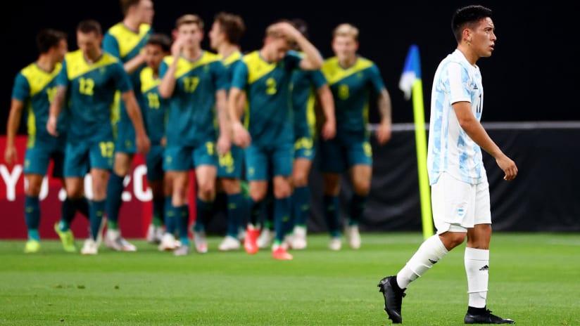 Ezequiel Barco, Claudio Bravo make early Olympics exit with Argentina
