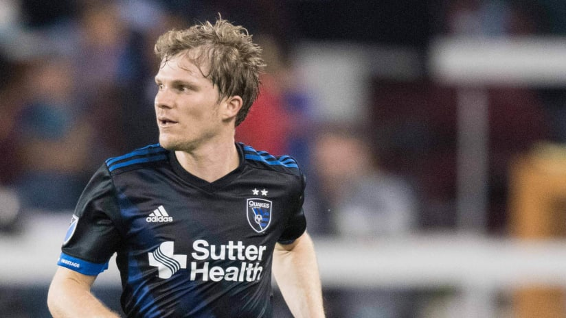 Florian Jungwirth - San Jose Earthquakes - isolated
