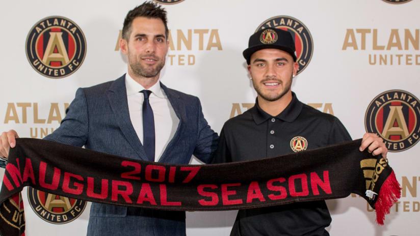 Hector Villalba - Carlos Bocanegra - Atlanta United - July 22, 2016