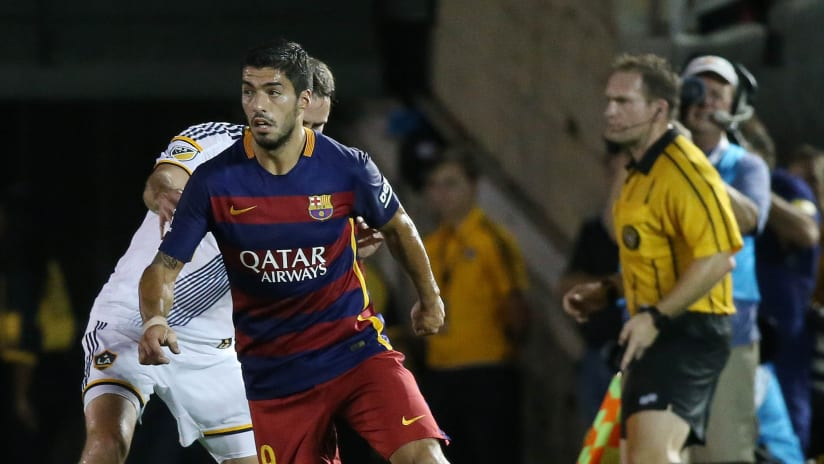 "Report: Luis Suarez ""would like to play in the United States"""
