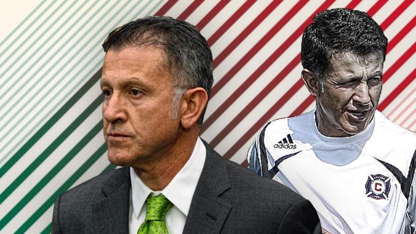 Juan Carlos Osorio, then and now header image