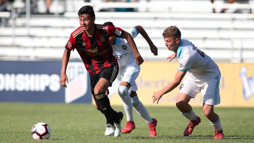 Atlanta United vs. Seattle Sounders - US Soccer Development Academy national championship game - 2018