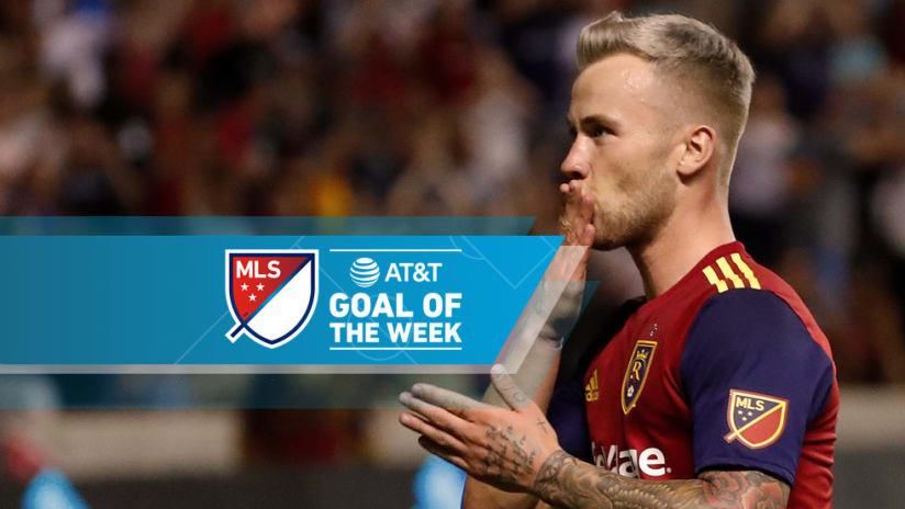 Albert Rusnak - Real Salt Lake - Goal of the Week