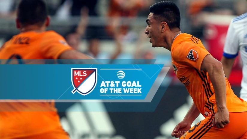 Memo Rodriguez - Houston Dynamo - Goal of the Week