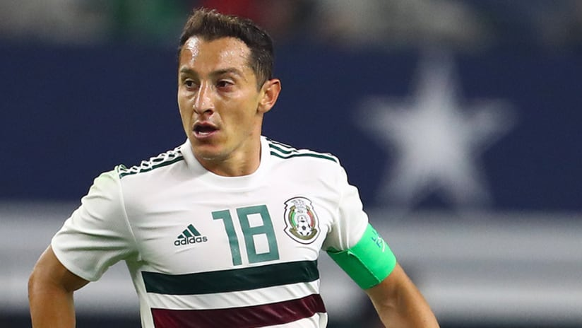 Andres Guardado – Mexico – surveys field