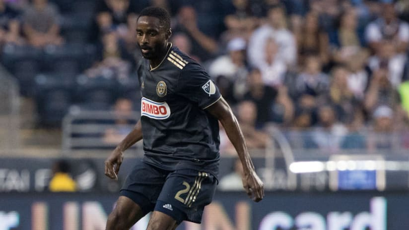 Warren Creavalle - Philadelphia Union - solo