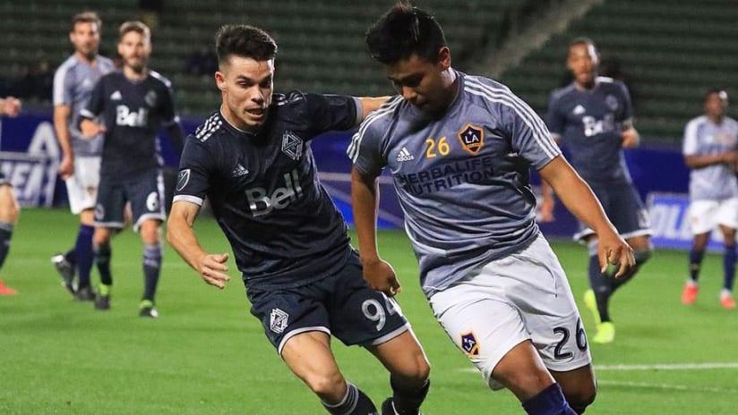 PC - Efrain Alvarez - Vancouver Whitecaps - LA Galaxy - preseason