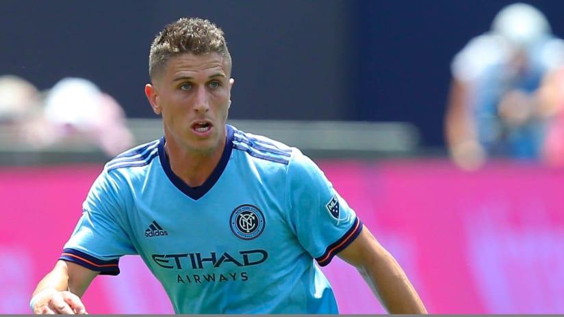 Ben Sweat - New York City FC - closeup