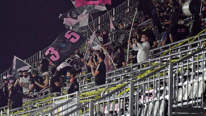 Inter Miami - fans - at stadium