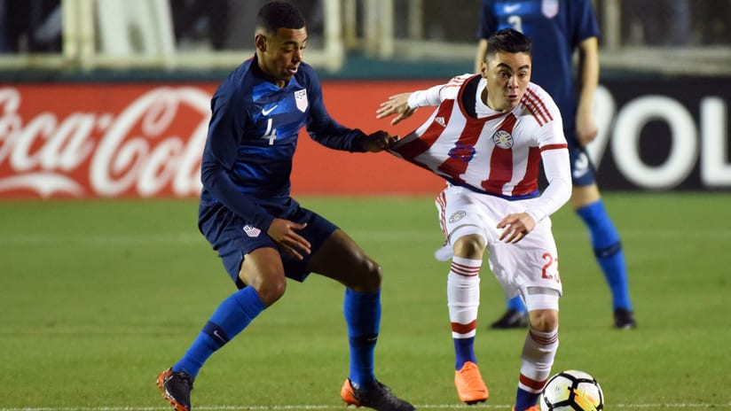 Tyler Adams, Miguel Almiron - United States vs. Paraguay - USMNT