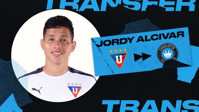 Charlotte FC sign Ecuador youth international Jordy Alcivar