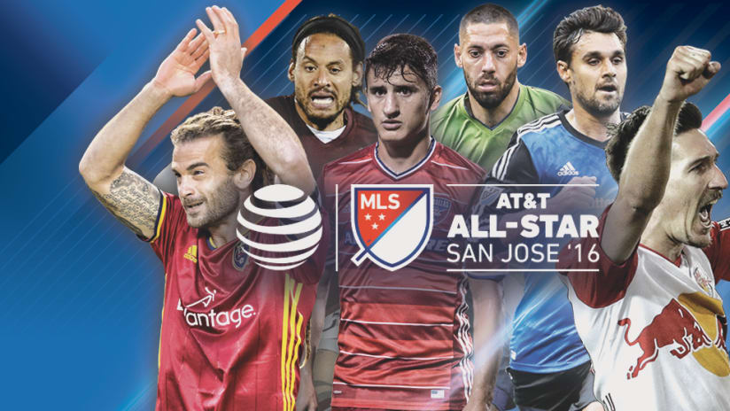 MLS All-Star 2016 - Gameday Roster Announcement