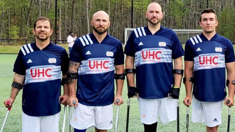 Revolution to honor New England Amputee Soccer Team for MLS' Soccer for All week