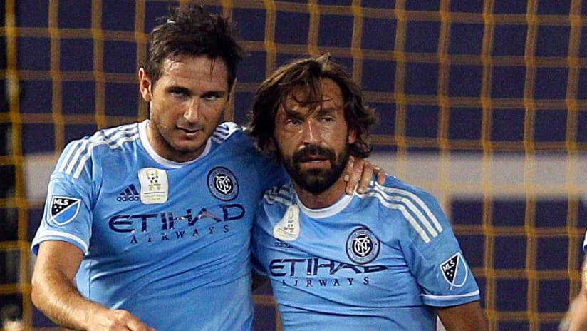 Frank Lampard - Andrea Pirlo - NYCFC