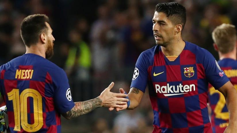 Lionel Messi - FC Barcelona - Luis Suarez