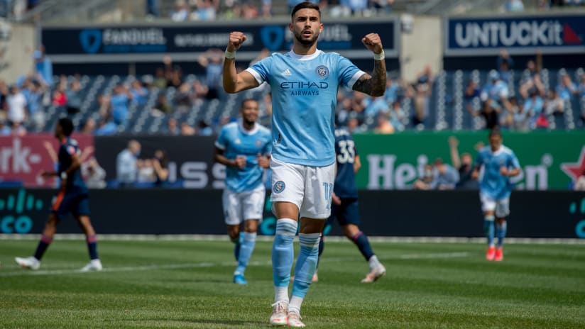 NYCFC, forward Valentin Castellanos agree to five-year contract extension
