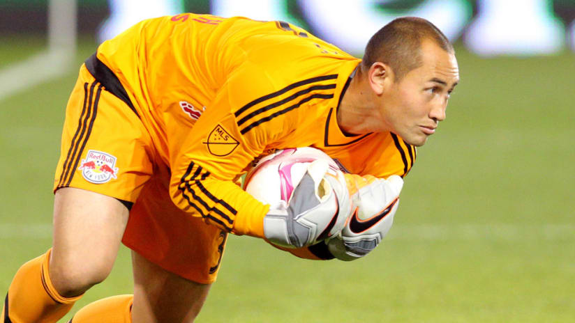 Luis Robles - New York Red Bulls - Close up