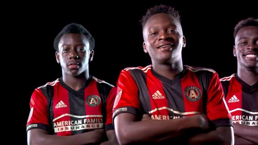 George Bello - Lagos Kunga - Patrick Okonkwo - Atlanta United - promo