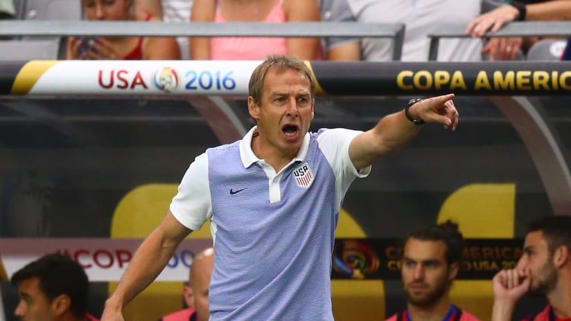 Jurgen Klinsmann points