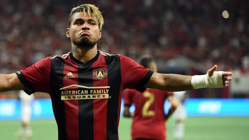 Atlanta United striker Josef Martinez — solo shot after 5th career hat trick — June 2, 2018