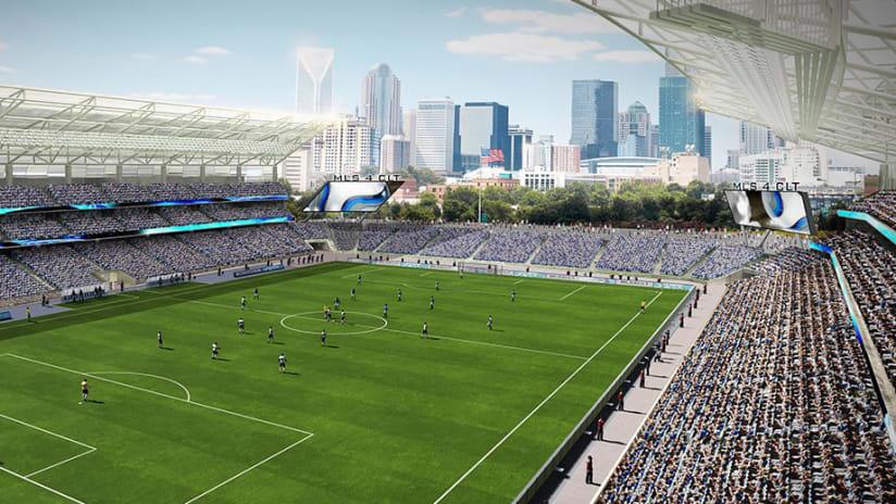 Charlotte stadium rendering