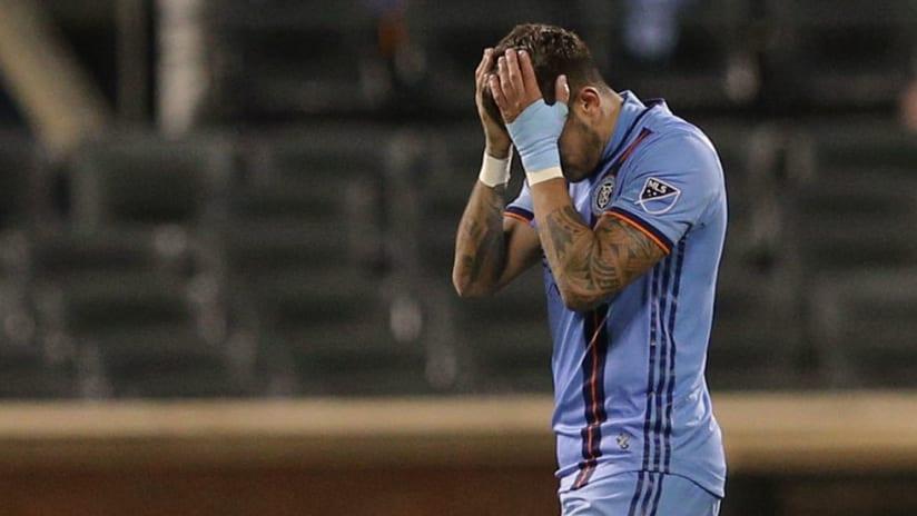 Ronald Matarrita - New York City FC - Upset