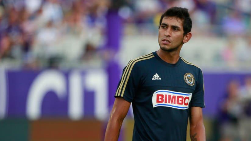 Cristian Maidana with Philadelphia Union